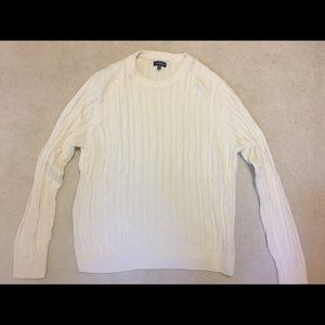 Off-White Men's Cabled Sweater